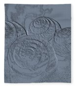 Fossils Fleece Blanket