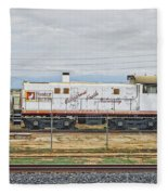 Foster Farms Locomotive Fleece Blanket