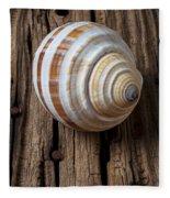 Found Sea Shell Fleece Blanket