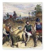 Founding Of St Fleece Blanket