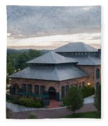 Foundry Building In The Morning Fleece Blanket
