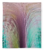 Fountain Art Fleece Blanket