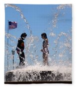 Fountain Of Youth Fleece Blanket