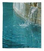 Fountain St Francisville Inn Louisiana Fleece Blanket