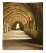 Fountain's Abbey Cellarium Fleece Blanket