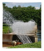 Fountains Fleece Blanket
