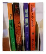 Four Of My Ten Books Published Fleece Blanket