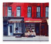 Four Shops On 11th Ave Fleece Blanket