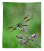 Four-spotted Pennant Fleece Blanket