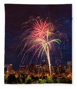 Fourth Of July Fleece Blanket