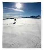 Fox Glacier Fleece Blanket