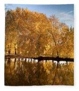 Fox River-jp2418 Fleece Blanket