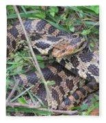 Fox Snake Fleece Blanket