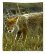 Foxy Loxy Fleece Blanket