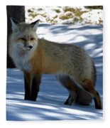 Foxy Shadows Fleece Blanket