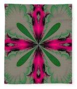 Fractal 002 Fleece Blanket