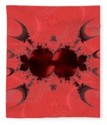 Fractal 003 Fleece Blanket