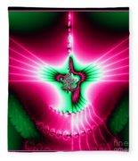 Fractal 11 Holy Spirit Fleece Blanket