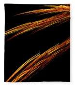 Fractal 25 Fiya Fleece Blanket