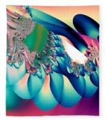 Fractal Abstract 001 Fleece Blanket