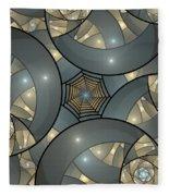 Fractal Art Deco  Fleece Blanket