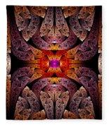 Fractal - Aztec - The Aztecs Fleece Blanket