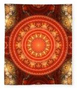Fractal Julian Fleece Blanket