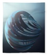 Fractal Sphere  Fleece Blanket