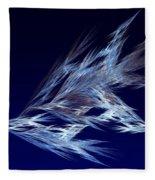 Fractals - Birds In Flight Fleece Blanket