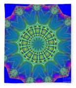 Fractalscope 2 Fleece Blanket