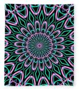 Fractalscope 21 Fleece Blanket