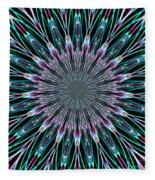 Fractalscope 23 Fleece Blanket