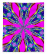 Fractalscope 29 Fleece Blanket
