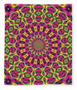 Fractalscope 7 Fleece Blanket