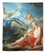 Fragonard's Diana And Endymion Fleece Blanket