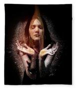Fragrance Of Worship Fleece Blanket