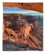 Framed Canyon Fleece Blanket