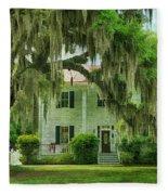 Frampton Plantation House Fleece Blanket
