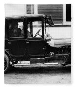 France Motorcar, C1910 Fleece Blanket