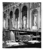 France Versailles, 1919 Fleece Blanket