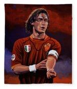 Francesco Totti Fleece Blanket