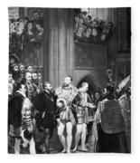 Francis I & Charles V Fleece Blanket