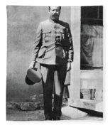 Francisco 'pancho' Villa (1877-1923) Fleece Blanket