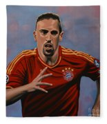 Franck Ribery Fleece Blanket