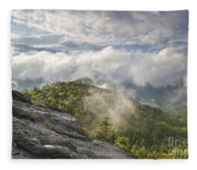Franconia Notch State Park - New Hampshire White Mountains  Fleece Blanket