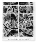 Frank Gehry's Lou Ruvo Center For Brain Health Fleece Blanket