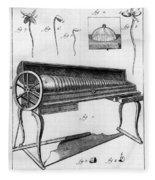 Franklin: Armonica, 1761 Fleece Blanket