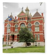 Franklin County Courthouse 2 Fleece Blanket