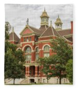 Franklin County Courthouse 3 Fleece Blanket