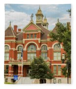 Franklin County Courthouse 4 Fleece Blanket